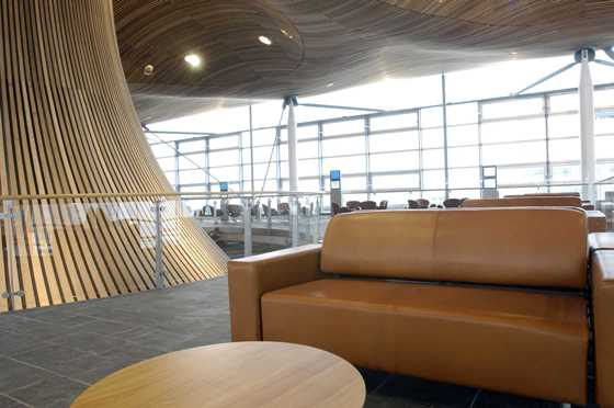 Oriel seating area