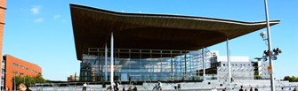 Picture of the Senedd representing the Key Events at the National Assembly for Wales during the Fourth Assembly