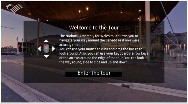 Take a Virtual Tour of the Senedd