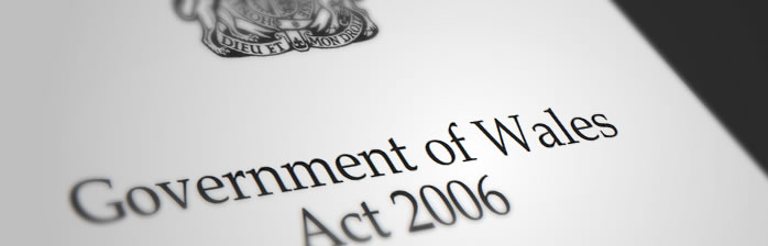 Government of Wales Act 2006 - Cover
