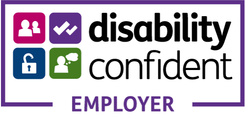 Logo for being a Disability Confident Employer