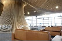 Sofas in the Senedd