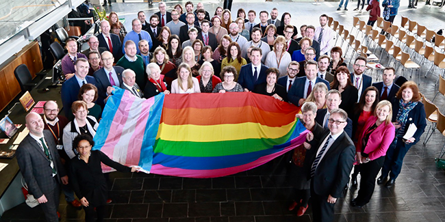 National Assembly recognised by Stonewall UK