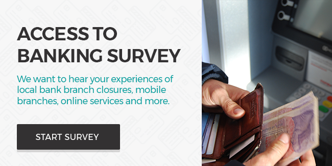 Link to the access to banking survey