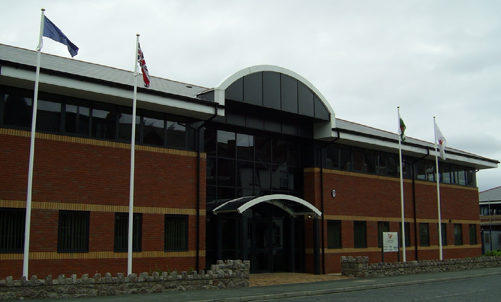 Photograph of The Assembly's North Wales Information Centre
