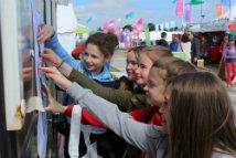 Children at the Urdd
